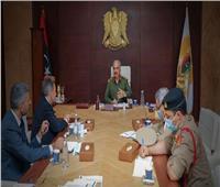 حفتر يناقش الأوضاع الإنسانية في ليبيا مع رئيس اللجنة الدولية للصليب الأحمر
