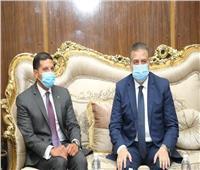 صور.. محافظ المنوفية يستقبل الرئيس الهيئة العامة للاستثمار والمناطق الحرة