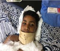 """خال """"طفل العجانة"""" يوجه الشكر لوزيرة الصحة.. ويؤكد: جارى نقل الضحية لمستشفى الهلال بالقاهرة"""