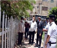 محافظ القليوبية يشهد إزالة 17 حالة تعد على حدائق عمارات غرب الاستاد