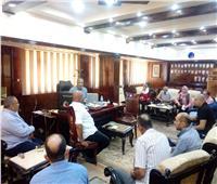 رئيس مدينة المحلة يبحث تطوير ميدان بنزايون
