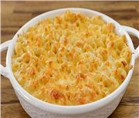 طبق اليوم.. «مكرونة بالوايت صوص والجبنة»