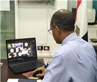 نائب وزير الإسكان يستعرض دراسة لإعادة استخدام مياه الصرف المعالجة بالإسكندرية