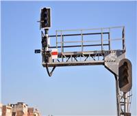 بالصور| دخول برج سكك حديد دمنهور والمنطقة الأوتوماتيكية الخدمة