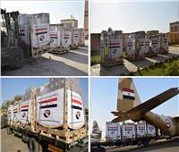 فيديو| بتوجيهات من «السيسي».. مصر تواصل إرسال المساعدات العاجلة للسودان
