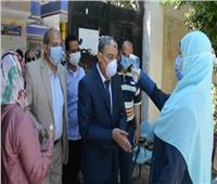 محافظ المنيا يتفقد عددا من لجان امتحانات الدور الثاني للثانوية العامة