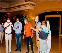 مطار مرسى علم الدولي يستقبل رحلتين من بولندا تقلان 375 سائحا