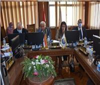 مجلس جامعة السادات يناقش التحول للتعليم الذكس