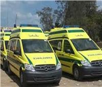 إصابة ٨ أشخاص في تصادم مروع بايتاى البارود بالبحيرة