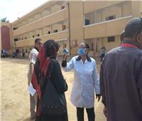 إجراءات احترازية مشددة بامتحانات الدور الثاني للثانوية العامة بمركز ابوقرقاص