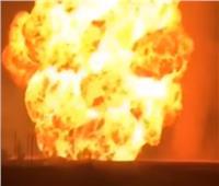 فيديو| لحظة انفجار خط الغاز الرئيسي في سوريا