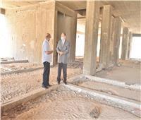محافظ أسيوط يتفقد مبنى مستشفى منفلوط النموذجي الجديد