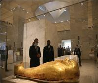 وزير السياحة والأمين العام لمنظمة السياحة العالمية يزوران المتحف القومي للحضارة