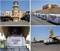 تاسع رحلات الجسر الجوي.. مصر تواصل تكثيف رحلاتها لإرسال المساعدات إلى لبنان