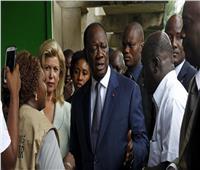 رئيس ساحل العاج يتقدم لخوض الانتخابات وسط احتجاجات
