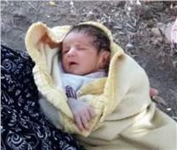 أهالي قرية بطنطا يعثرون على طفل بجوار مسجد