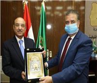 بروتوكول تعاون بين محافظة المنوفية وبنك التنمية الصناعية