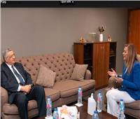 تاج الدين وعمران يشاركان في المقابلات الشخصية للمتقدمين للبرنامج الرئاسي