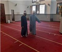 لجان لمتابعة تنظيف المساجد في السويس استعدادا لصلاة الجمعة