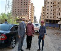 جولة تفقدية لمحافظ القليوبية ببنها لتفقد أعمال رصف طريق «طراد النيل»