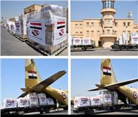 طائرتان عسكريتان محملتان بأطنان من المساعدات الطبية والغذائية تصلان لبنان