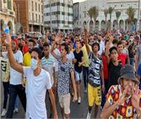 «الوفاق» تواجه المتظاهرين الليبيين بالرصاص الحي ومرتزقة ملثمون يحتلون الميدان