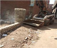 محافظ المنوفية : إزالات فورية علي مساحة 2300 م بمراكز الشهداء وقويسنا