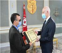 الرئيس التونسي يستقبل المرشح لتولي وزارة الثقافة بالحكومة الجديدة