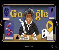 بـ«صور مسرحية».. جوجل يحتفل بالكاتب الفرنسي «ألكسندر دوما»