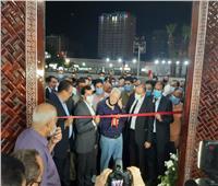 مرتضى منصور ووزير الرياضة يفتتحان مسجد «طبيب الغلابة»