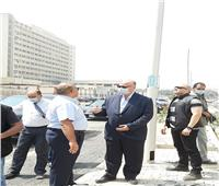 محافظ القاهرة يتفقد أعمال تطوير شارع مصطفى أبو زهرة بمدينة نصر
