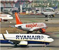 تراجع الحركة الجوية الأوروبية بنسبة 60.5٪ في شهر يوليو