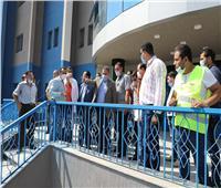 محافظ المنوفية يتفقد تجهيزات مبنى الطوارئ الجديد بمستشفى شبين الكوم التعليمي