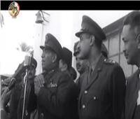 شاهد| «ذاكرة الأمة».. وفاة أول رئيس جمهورية وحصول نجيب محفوظ على نوبل