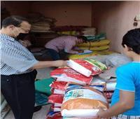 محافظ المنيا: ضبط 8 أطنان مواد غذائية مدعمة وتحرير 18 مخالفة للمخابز