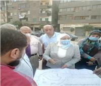 نائب محافظ القاهرة تتفقد أعمال تطوير شارع محمد علي الأثري بالخليفة
