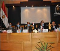 مجلس جامعة حلوان يكرم الفائزين في انتخابات مجلس الشيوخ