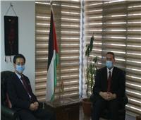 السفير الفلسطيني بالقاهرة يلتقي نظيره الكوري الشمالي