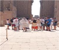 الكرنك يستقبل أول الأفواج السياحية بعد فتح السياحة الثقافية مرة أخرى |صور