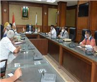 نائب محافظ سوهاج يترأس الاجتماع الحادي عشر لمراجعة تراخيص أعمال البناء