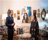 نجوم الفن يهنئون جارة القمر على تكريمها من الرئيس الفرنسي