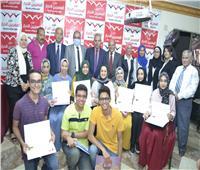 المصريين الأحرار بالسويس يكرم أوائل الثانوية العامة ومديري مدارسهم