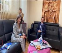سفارتنا في موسكو تبحث سبل التعاون مع جامعة جنوب روسياللعلوم التقنية