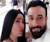 بصورة رومانسية.. عبير صبري تحتفل بعيد ميلاد أيمن البياع