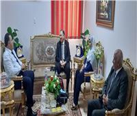 """أمين عام """"القومي لأسر الشهداء"""" يستقبل مدير منظومة الشكاوى الحكومية"""