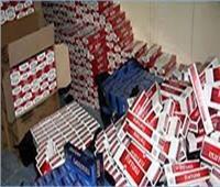 ضبط سيارة نقل بالغربية محملة بـ20 ألف علبة سجائر مهربة