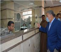 محافظ المنيا يتابع انتظام المراكز التكنولوجية في استقبال طلبات التصالح