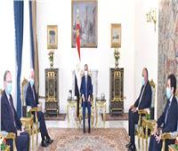 السيسي يؤكد تمسك مصر بحقوقها المائية وباتفاق متوازن لملء السد الإثيوبي