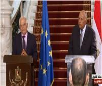 فيديو  الاتحاد الأوروبى: نعمل على وقف تدفق الأسلحة والمرتزقة إلي ليبيا
