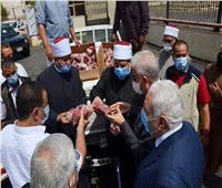 محافظ جنوب سيناء يشيد بجودة لحوم الأضاحي